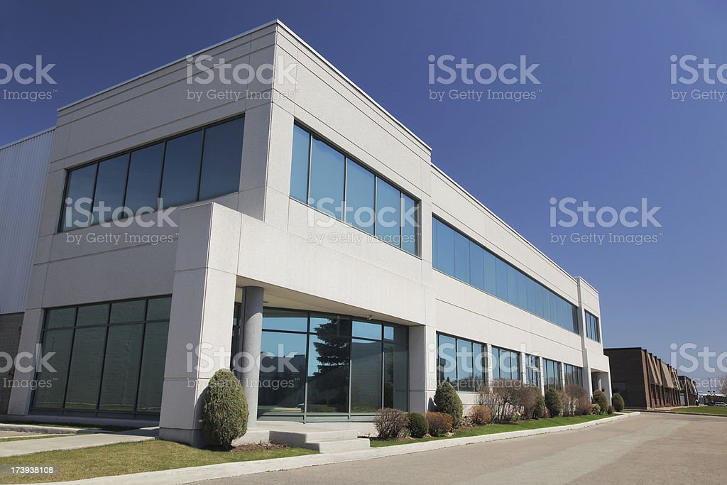 Professionnal Offices Building Exterior royalty-free stock photo