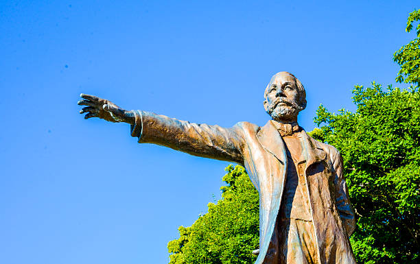 professor clark statue in sapporo japan5 - sapporo stock photos and pictures