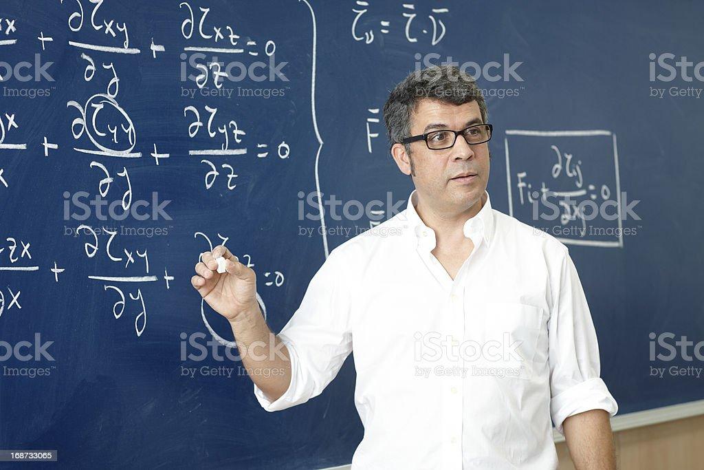 Professor, die Unterricht im Klassenzimmer – Foto