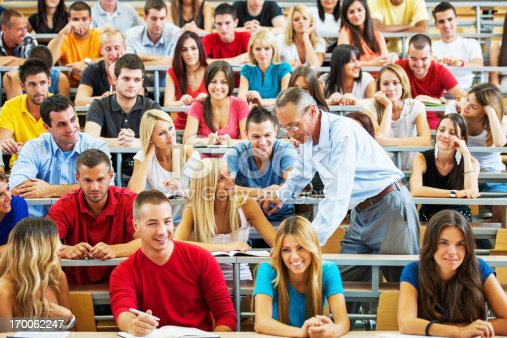 istock Professor helping a student. 170062247
