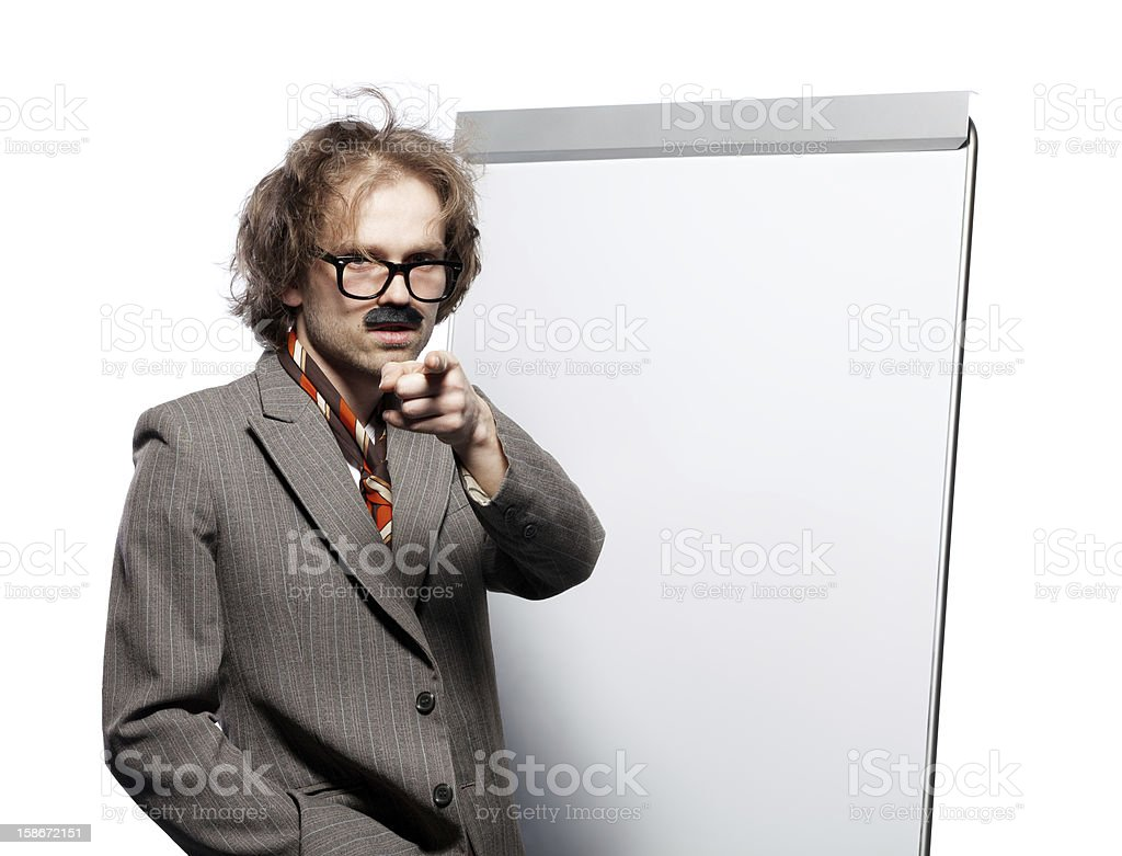 Professor royalty-free stock photo