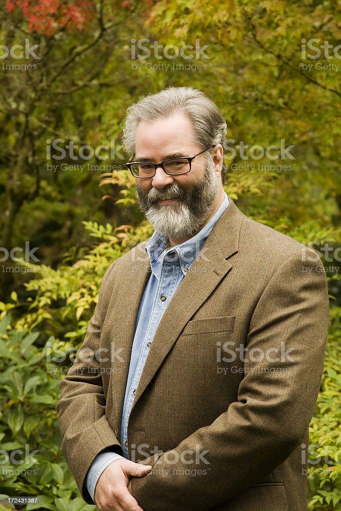 Professor Portrait royalty-free stock photo