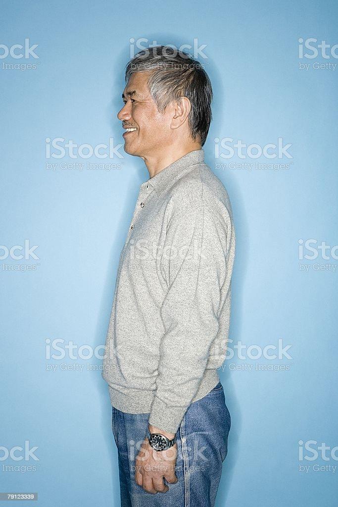 Profile of a man 免版稅 stock photo