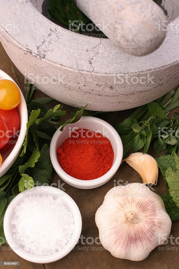 Profile of a mortar royalty-free stock photo