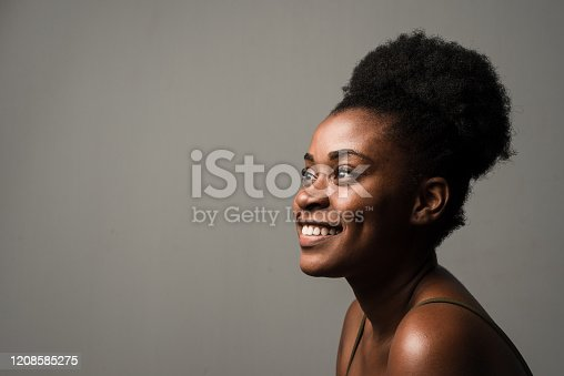 portrait, african american, one woman, africa, head photo