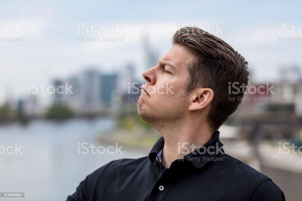 תוצאת תמונה עבור man with nose up