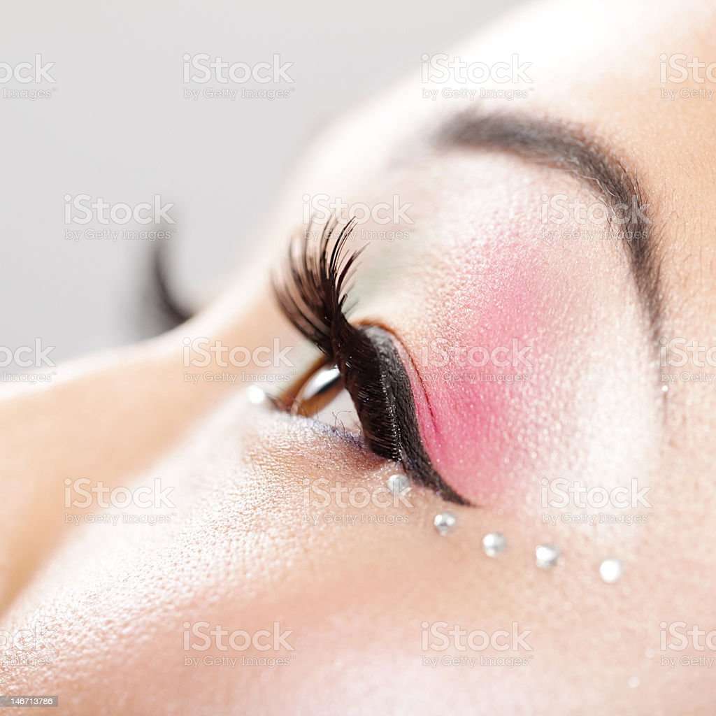 Profil Von Schönen Augen Stockfoto Und Mehr Bilder Von Asiatischer