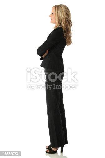 Profile of confident businesswomanhttp://www.twodozendesign.info/i/1.png