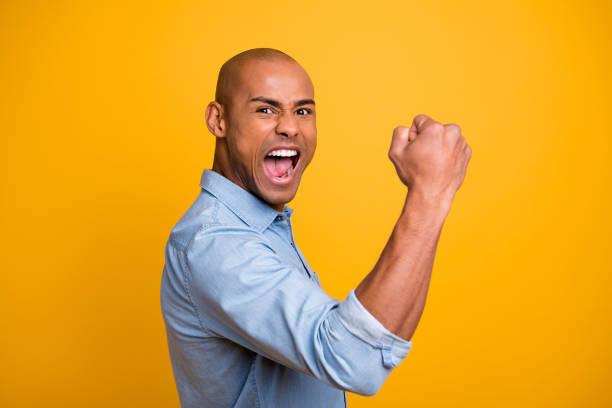 Profile photo of dark skin guy raise hands yell loud success achieve picture id1163694129?b=1&k=6&m=1163694129&s=612x612&w=0&h=stj0afcit9v1rt7dktyodjzh6ufknfzfd8hq2vrludi=