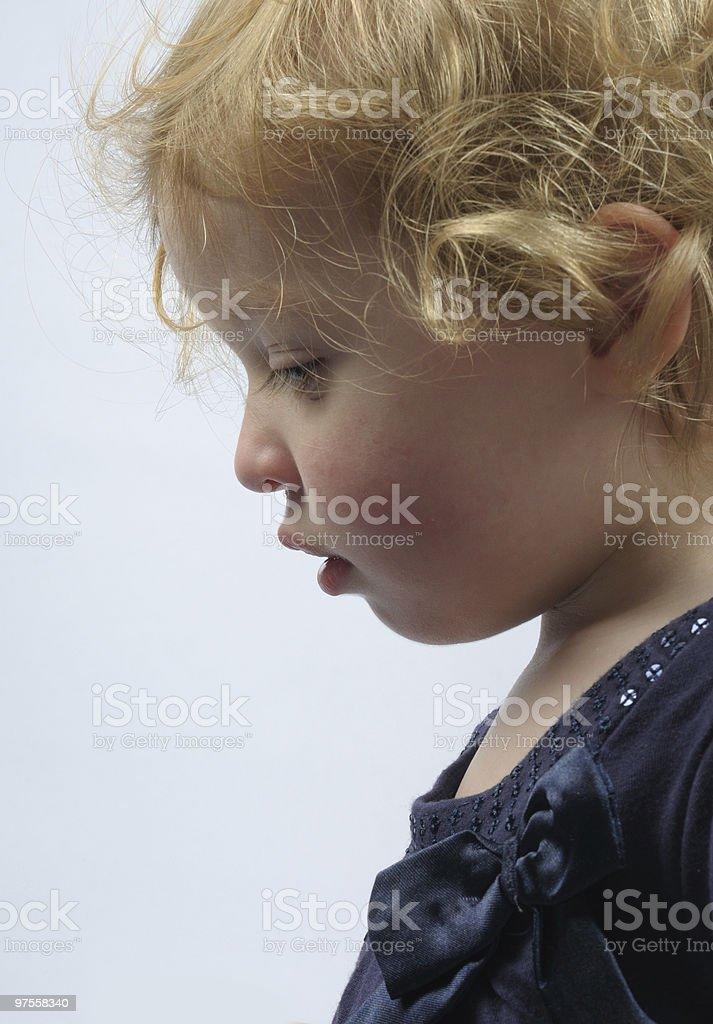 Profil. photo libre de droits