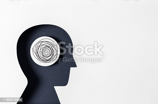 istock Profile view, and Mental Illness 1163373954