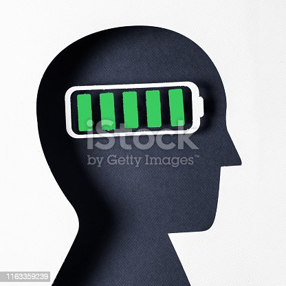istock Profile view and Mental Wellbeing 1163359239