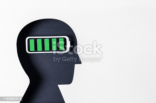 istock Profile view and Mental Wellbeing 1163362516