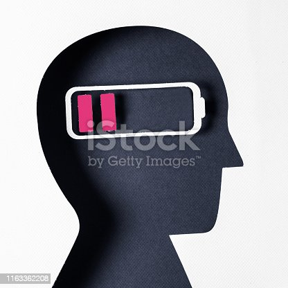 istock Profile view and Negative Emotion 1163362208