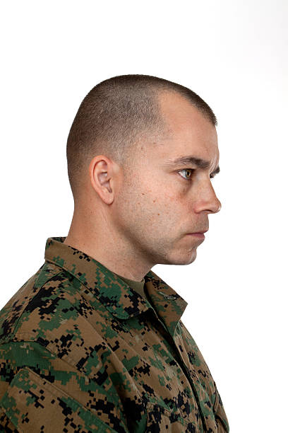 Imagen de corte de pelo militar