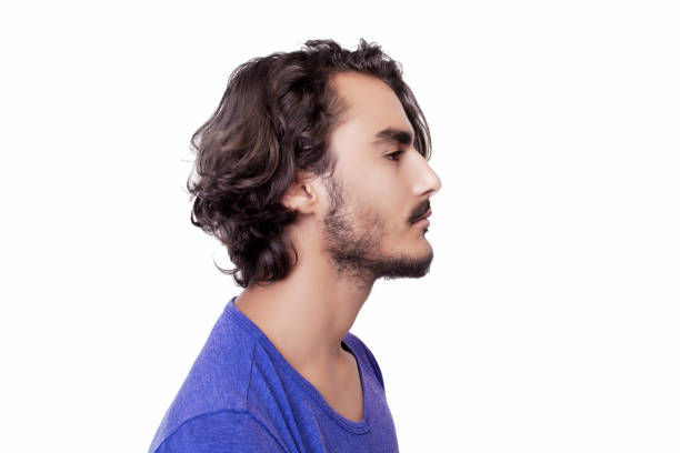 Profile view of serious young man Profile view of serious young man. profile view stock pictures, royalty-free photos & images