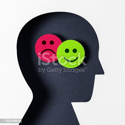 Profile view  positive and negative emotion