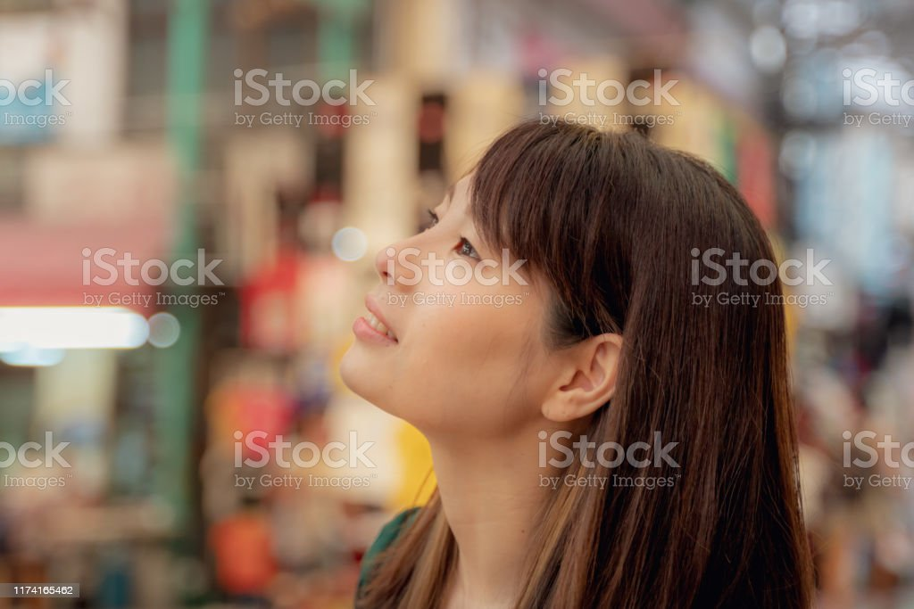 Profile Woman With A Nice Profile Stock Photo Download Image Now Istock
