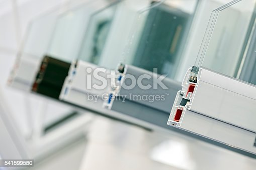 istock PVC profiles for window 541599580