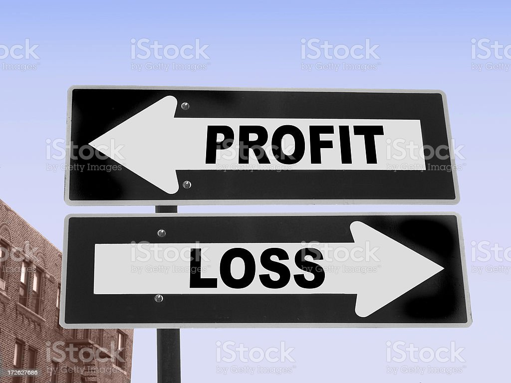 Profit and Loss stock photo