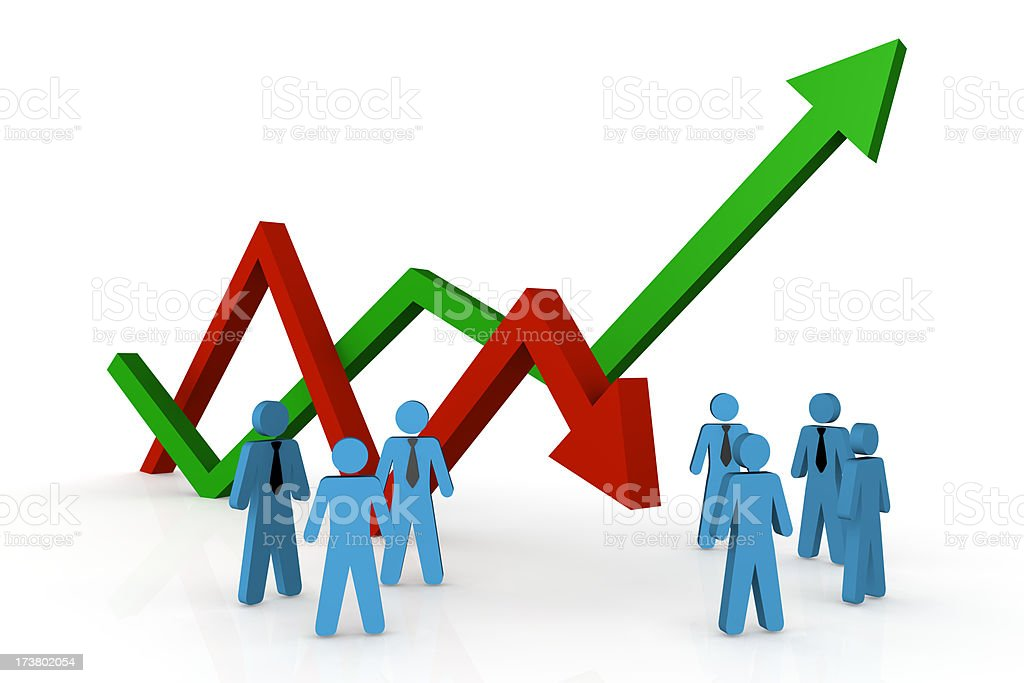 profit and loss stock photo more pictures of arrow symbol istock