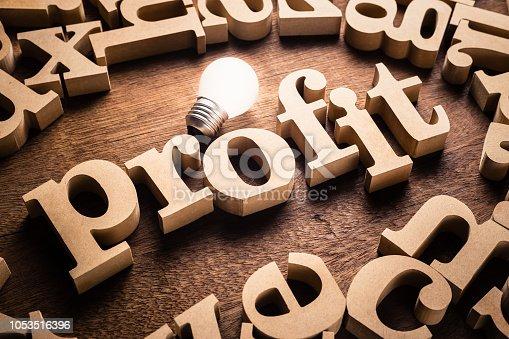 istock Profit Idea Topic 1053516396