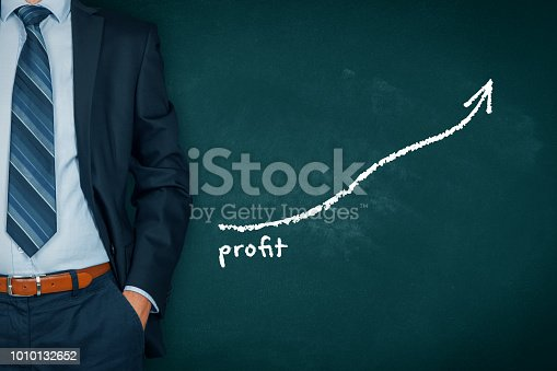 509469434istockphoto Profit increase 1010132652
