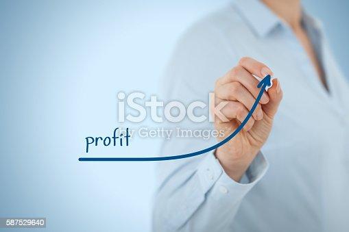 509469434istockphoto Profit 587529640