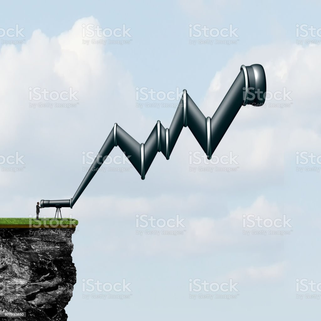 Profit Search stock photo