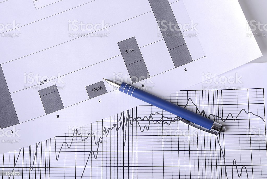 Profitability royalty-free stock photo