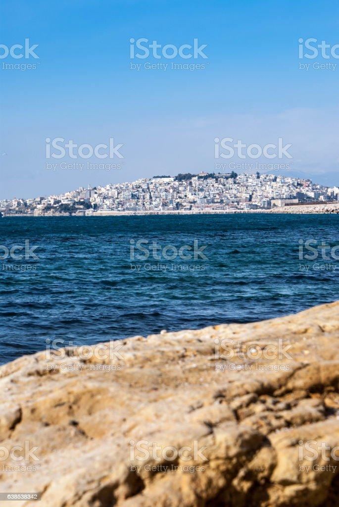 Profitis Ilias Pireas Greece stock photo