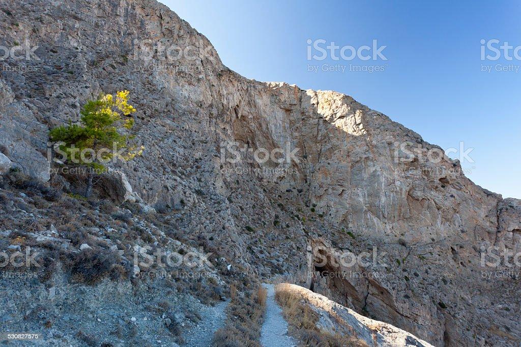 Profitis Ilias, Santorini stock photo
