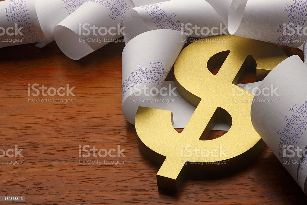 Profits royalty-free stock photo