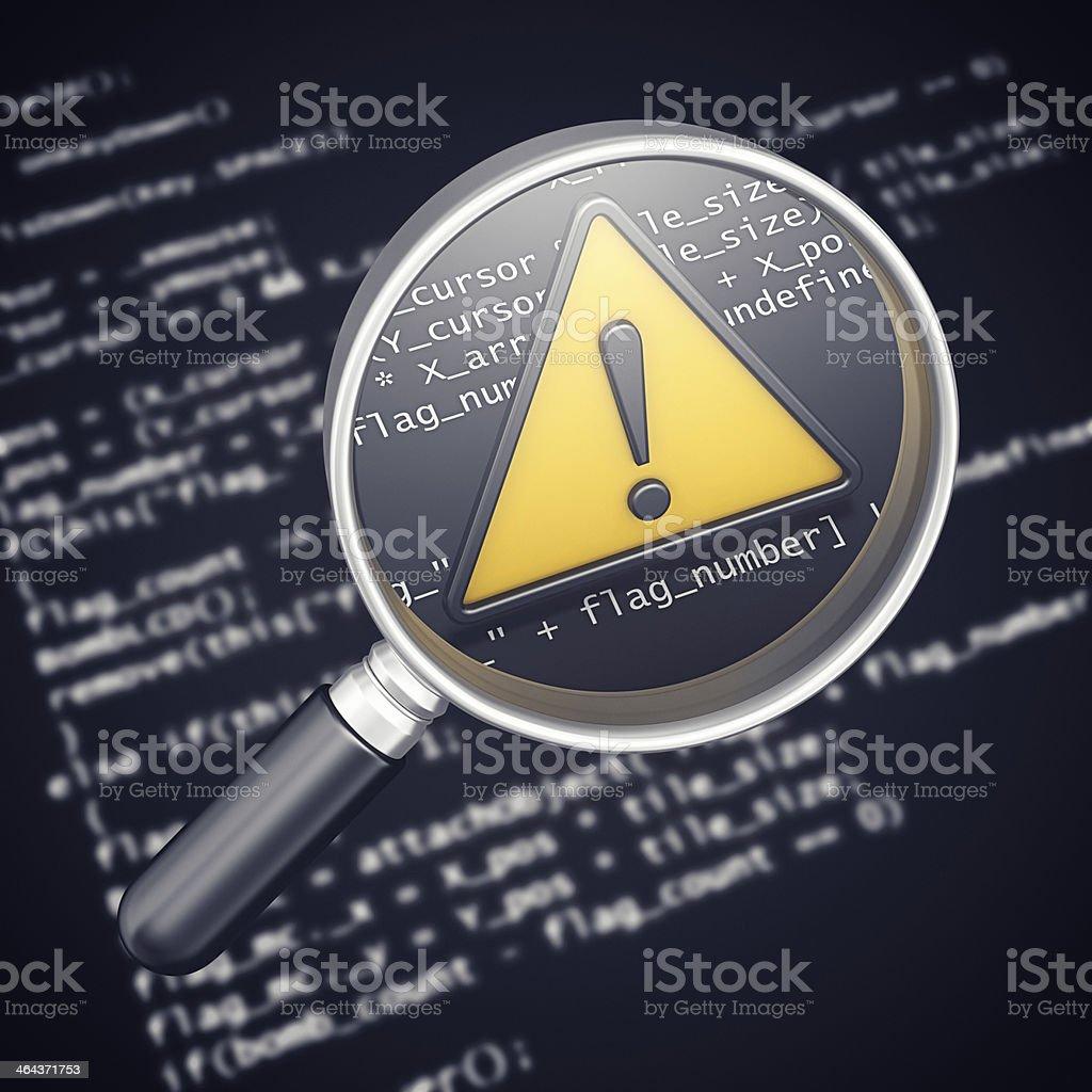 program error stock photo