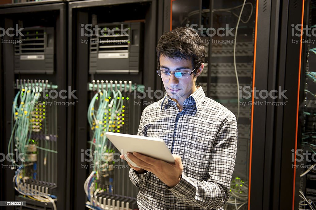 IT Programmer stock photo