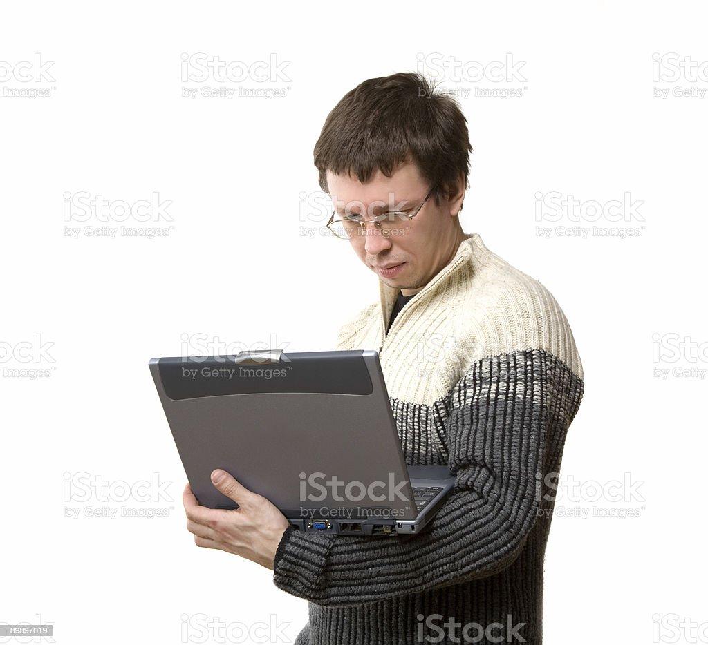programmer royalty-free stock photo