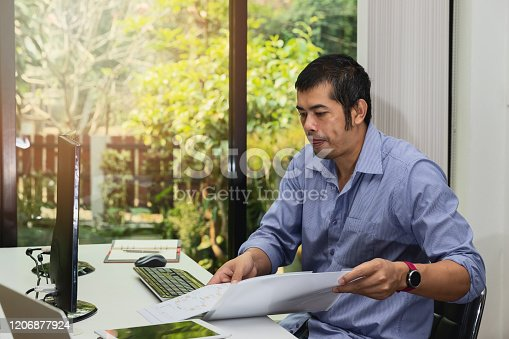 1170085960 istock photo Programmer working in a software developing. Developing programming and coding technologies. Website design. Cyber space concept. 1206877924