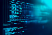 istock Programming code abstract technology background of software deve 537331500