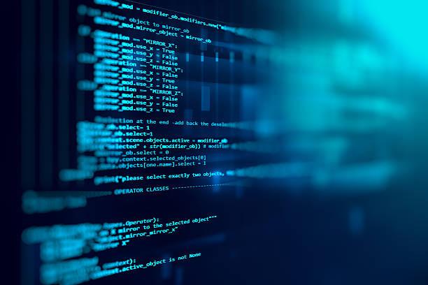 programm-code abstrakte technologie hintergrund der software deve - html stock-fotos und bilder