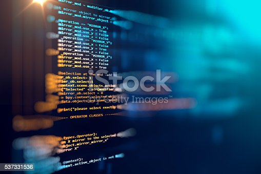 629286010 istock photo Programming code abstract technology background of software deve 537331536