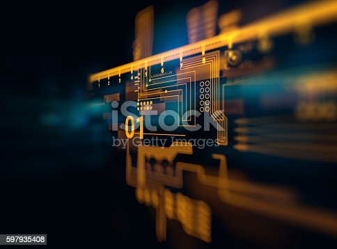 istock Programming code abstract technology background of software deve 597935408