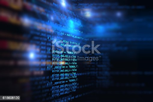 629286010 istock photo Programming code abstract technology background of software deve 615608120