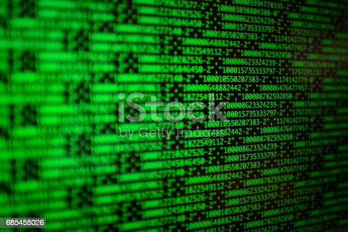 629286010 istock photo Programming code abstract technology background of software deve 685458026