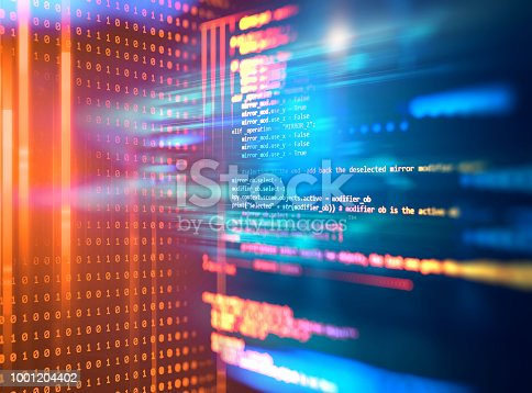 istock Programming code abstract technology background of software developer and  Computer script 1001204402