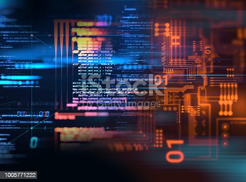 istock Programming code abstract technology background of software developer and  Computer script 1005771222