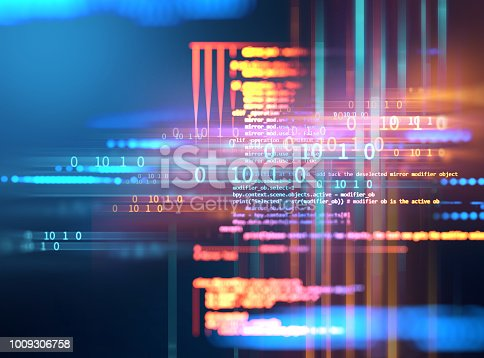 istock Programming code abstract technology background of software developer and  Computer script 1009306758