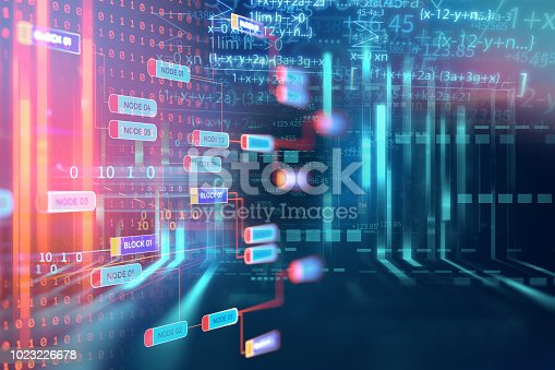 1026914886 istock photo Programming code abstract technology background of software developer and  Computer script 1023226678