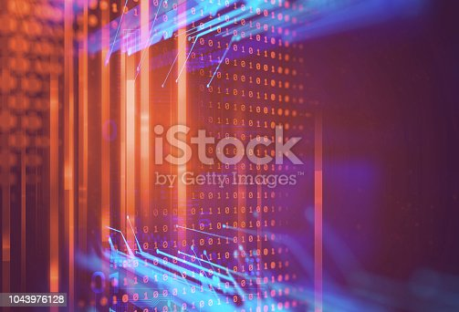 istock Programming code abstract technology background of software developer and  Computer script 1043976128