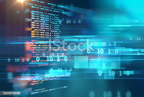 1026914886 istock photo Programming code abstract technology background of software developer and  Computer script 1044575446