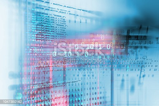 istock Programming code abstract technology background of software developer and  Computer script 1047350162